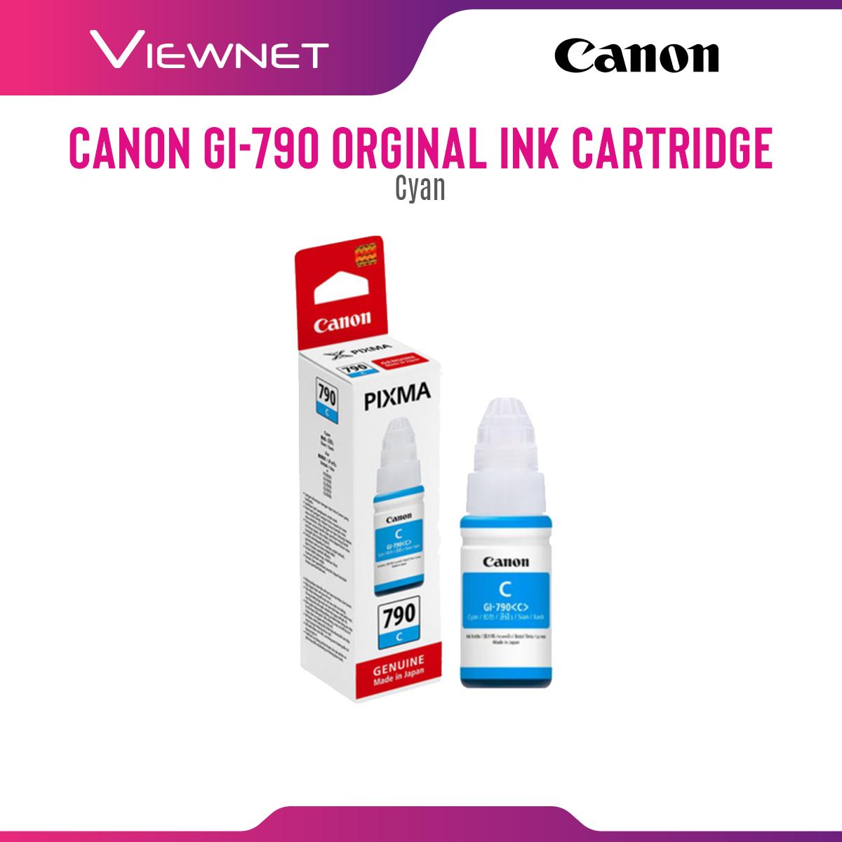 Canon Cartridge GI-790 Ink (CYAN)