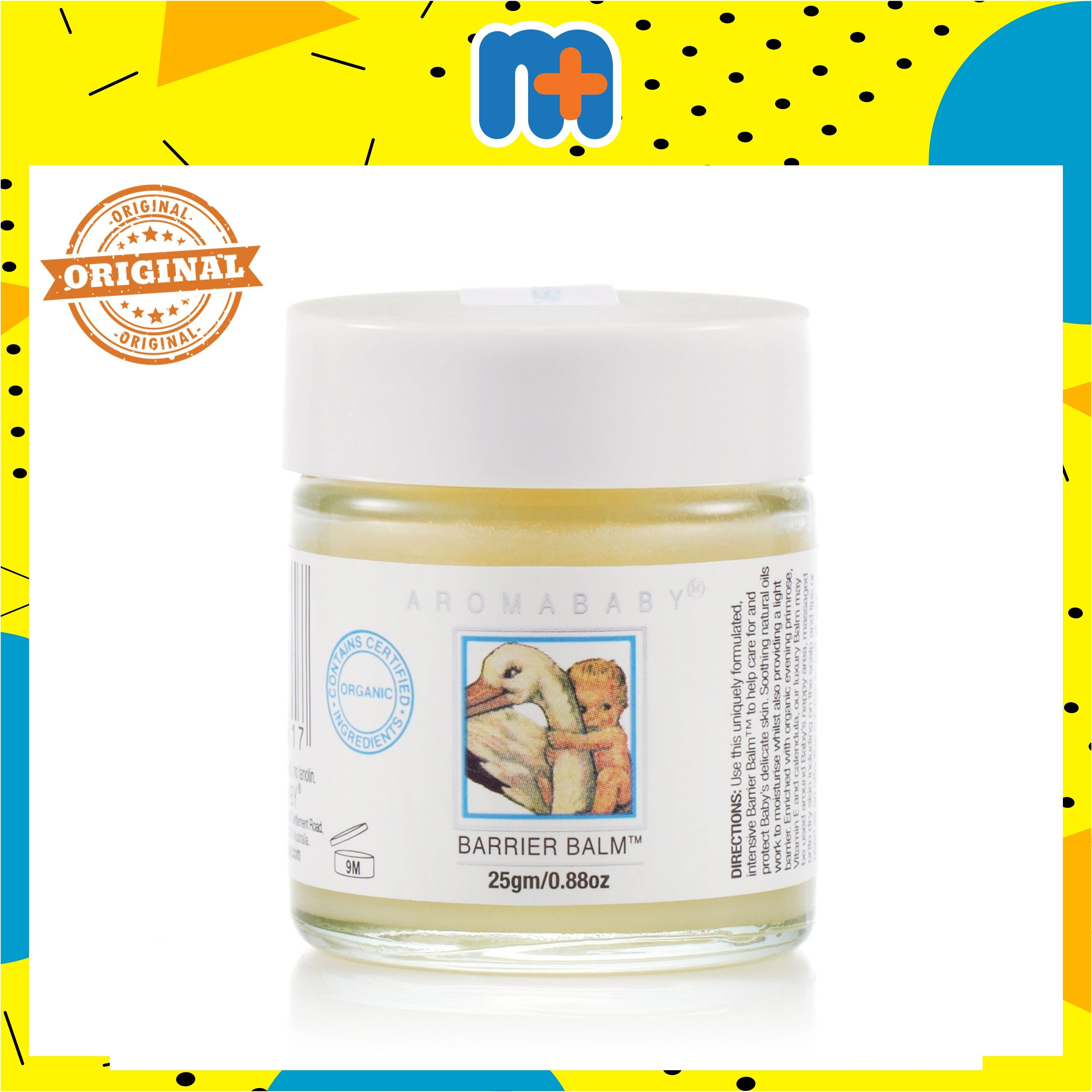[MPLUS] AROMABABY BARIER BALM 25GM NATURAL HEALING PRODUCT