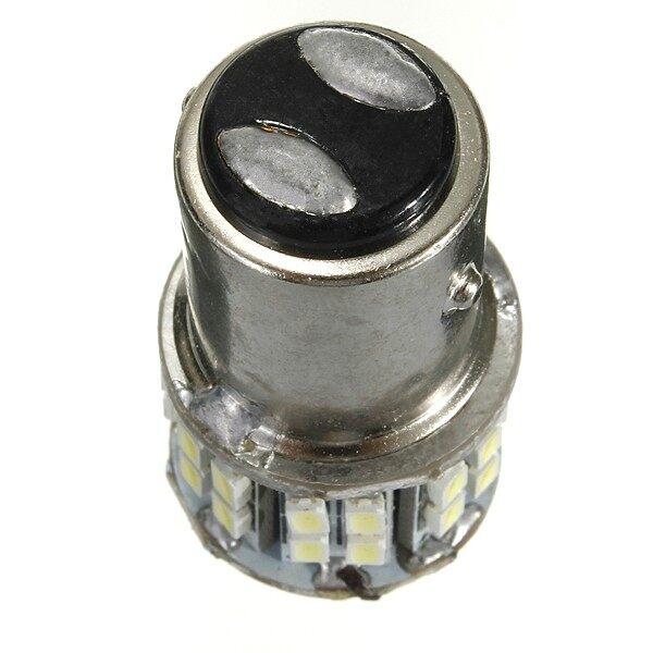 Car Lights - BAY15D 1157 White Car Tail Stop Brake Light Super Bright 50 SMD LED Bulb 12V - Replacement Parts