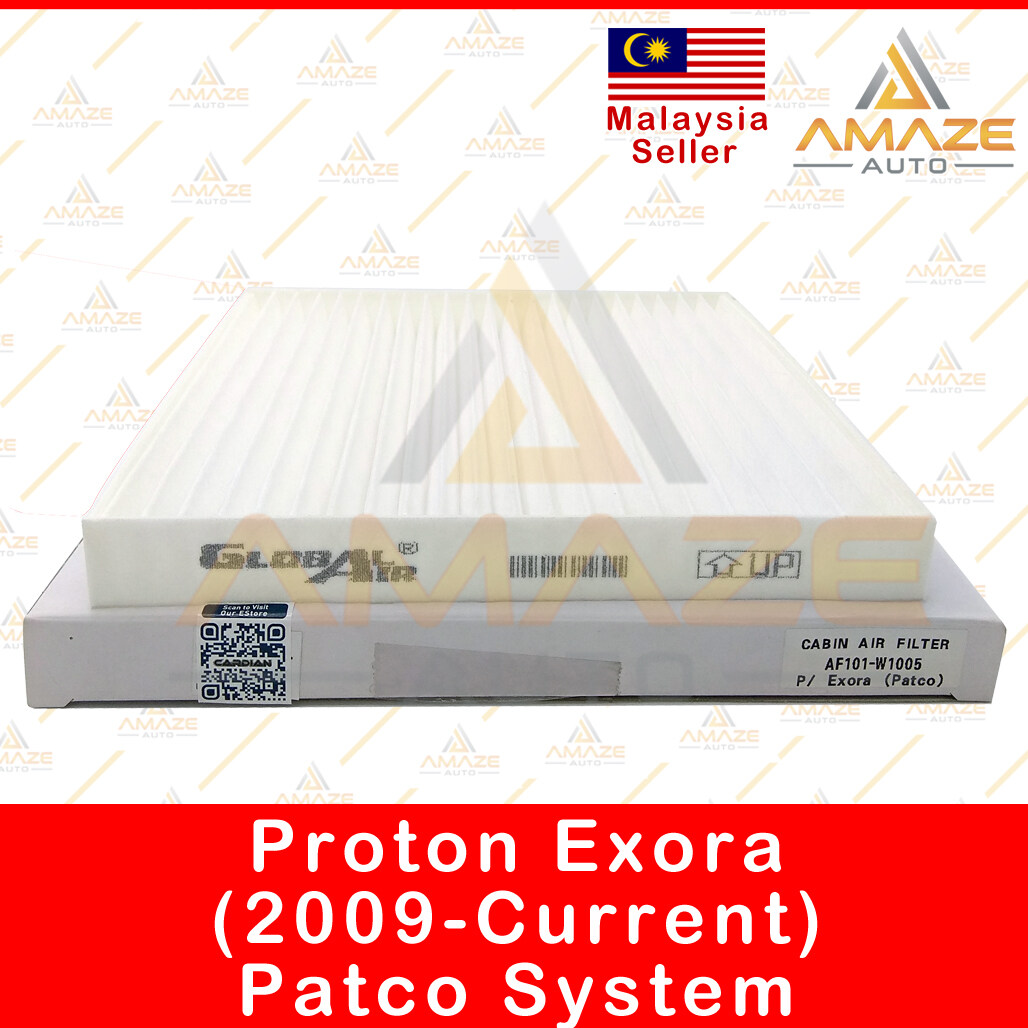 Air-Cond Cabin Filter for Proton Exora (2009 - Current) Patco type [Amaze Autoparts]