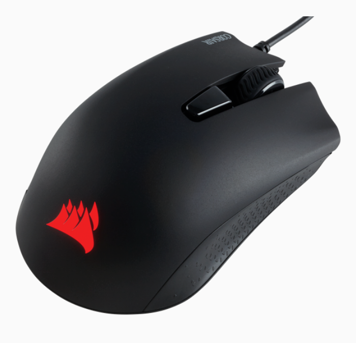 CORSAIR MOUSE WIRED GAMING HARPOON PRO RGB 12000DPI (CH-9301111-AP)