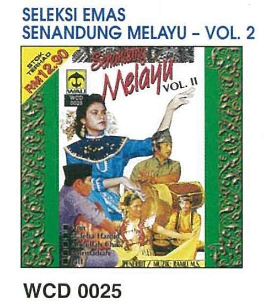 Seleksi Emas Senandung Melayu Vol.2 CD Abdullah Chik Yusni Hamid Zaleha Hamid Jatt