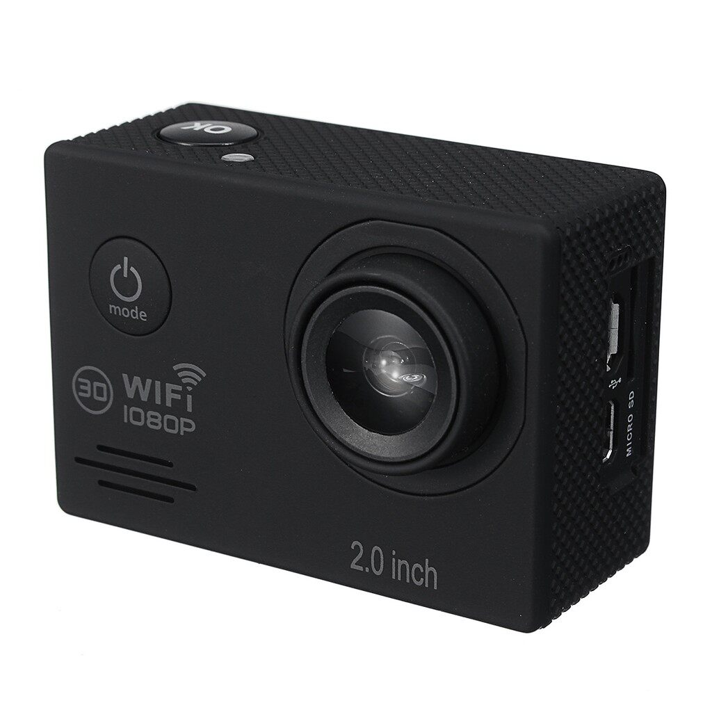 Sports & Action Cameras - 4K HD 1080P WIFI LCD 2'' Waterproof Action Camera Sports DV Camcorder +Remote - Drones