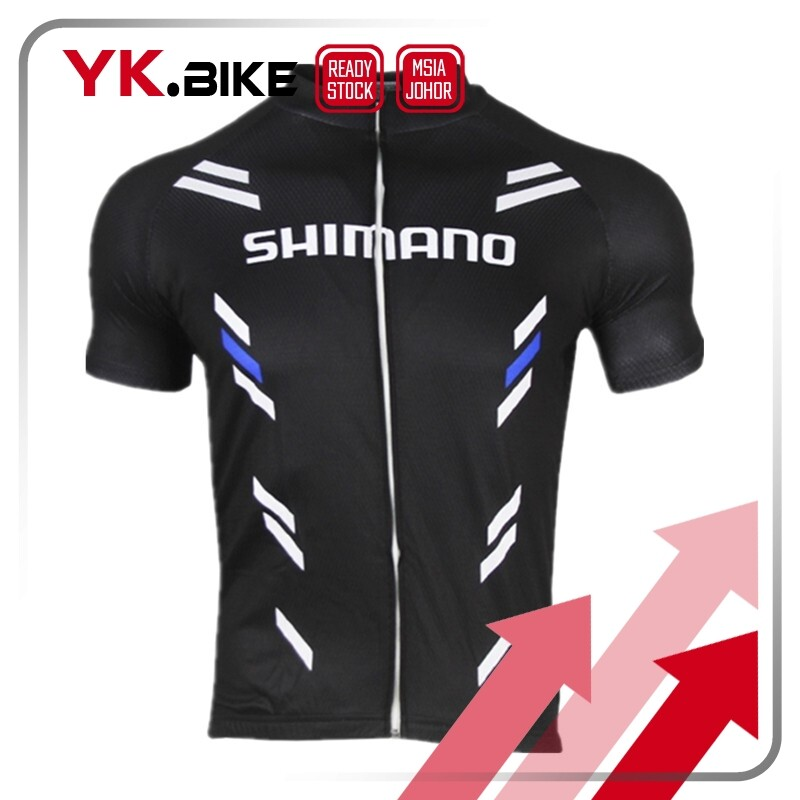 YKBIKE [LOCAL READY STOCK] Cycling Jersey XS-7XL Kit Short Sleeve Jersey And Gel Padding Short Pant Bicycle Racing Set APL117
