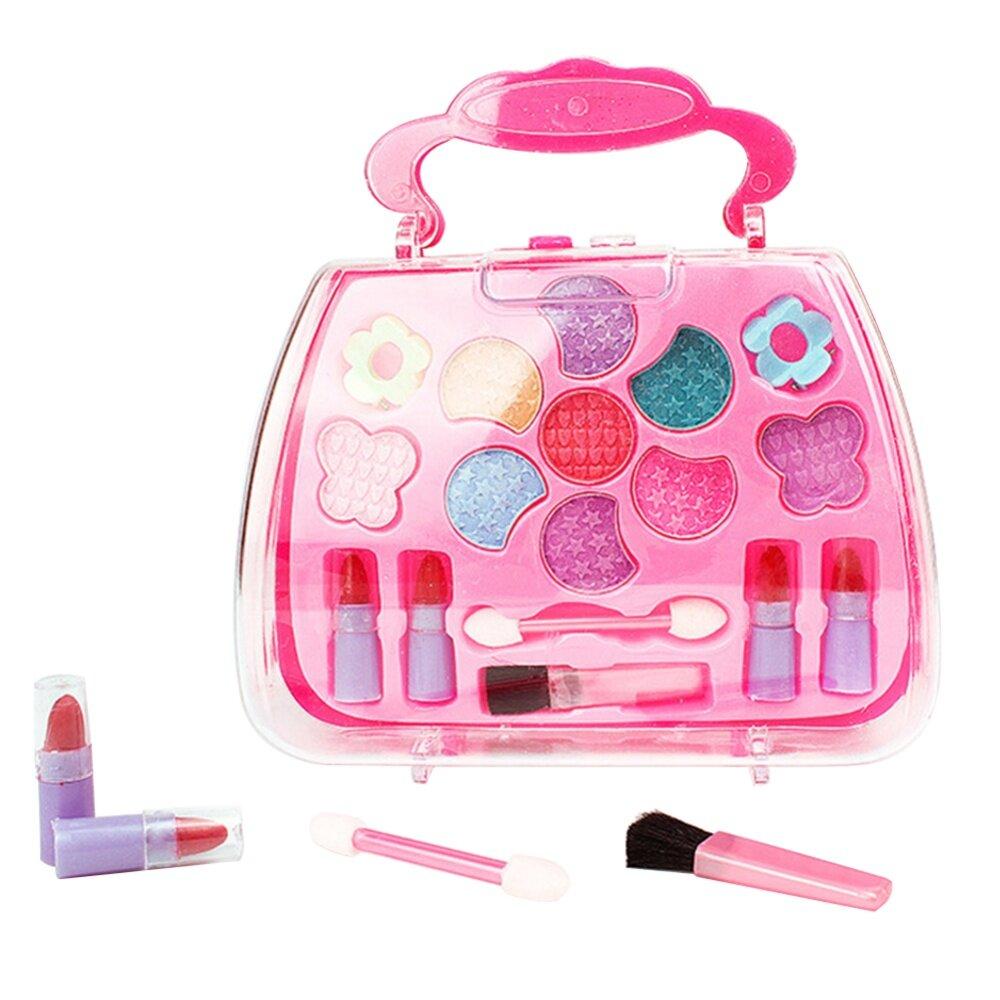 Children Girls Simulation Dressing Table Makeup Toy Cosmetics Party Performances Dressing Box Set