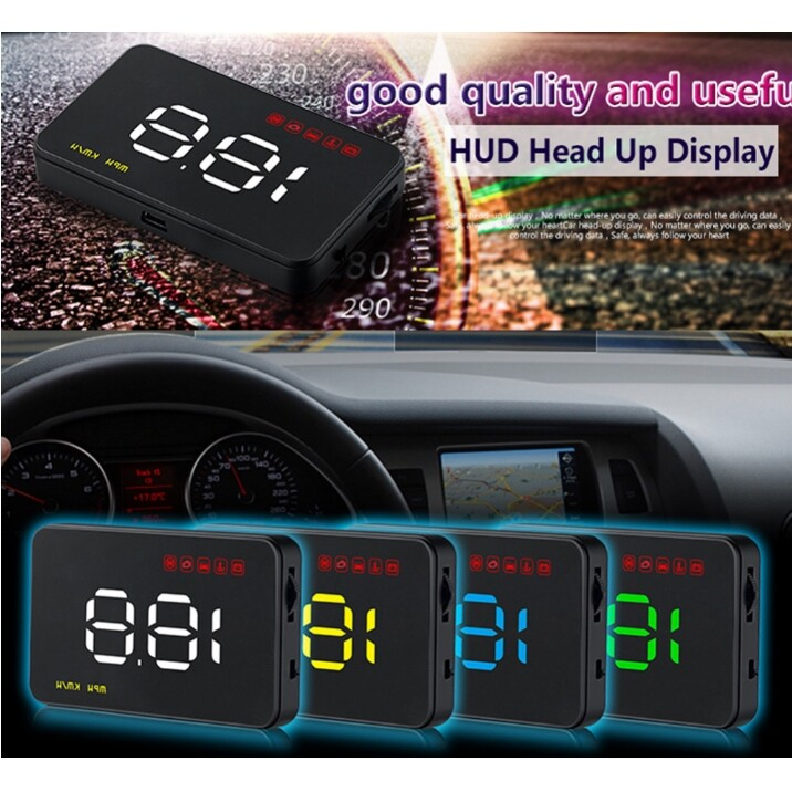 Vehicle GPS - A1000 Car HUD Head Up Display HUD Navigation Car Head Up Display Projection - Car Electronics
