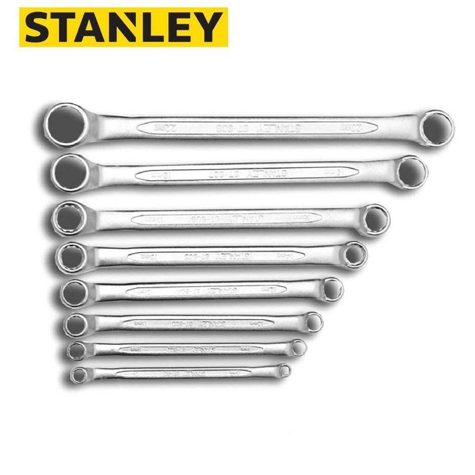 Stanley Offset Ring Wrench Set ( MM ) 8Pcs