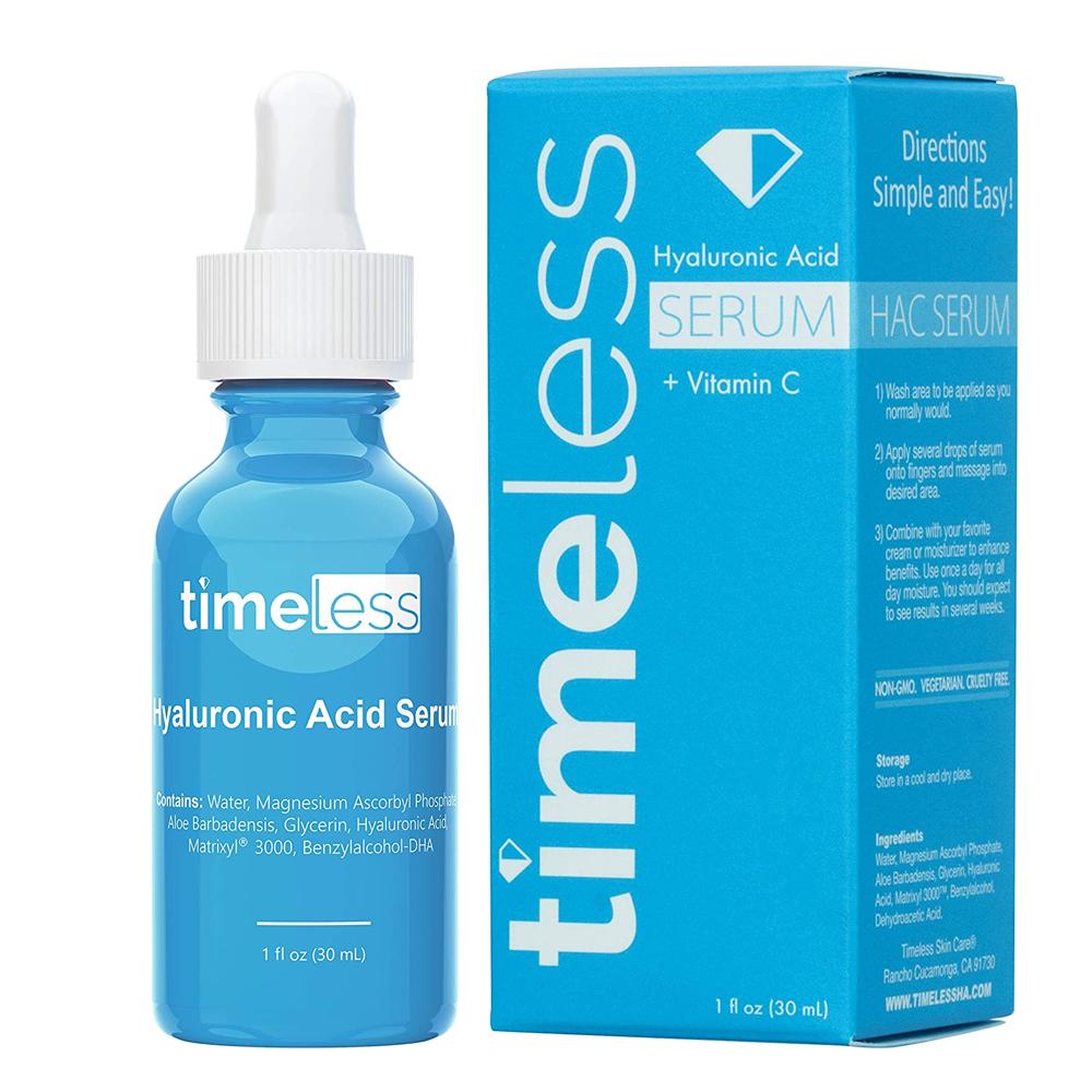 Timeless Hyaluronic Acid Vitamin C Serum face serum