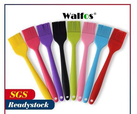 WALFOS Pastry Brushes-BBQ cake oil brush grill -heat resistant Silicone Brushes