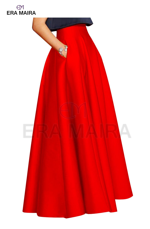New fashion style long skirt with ruffles for women - Ruffle