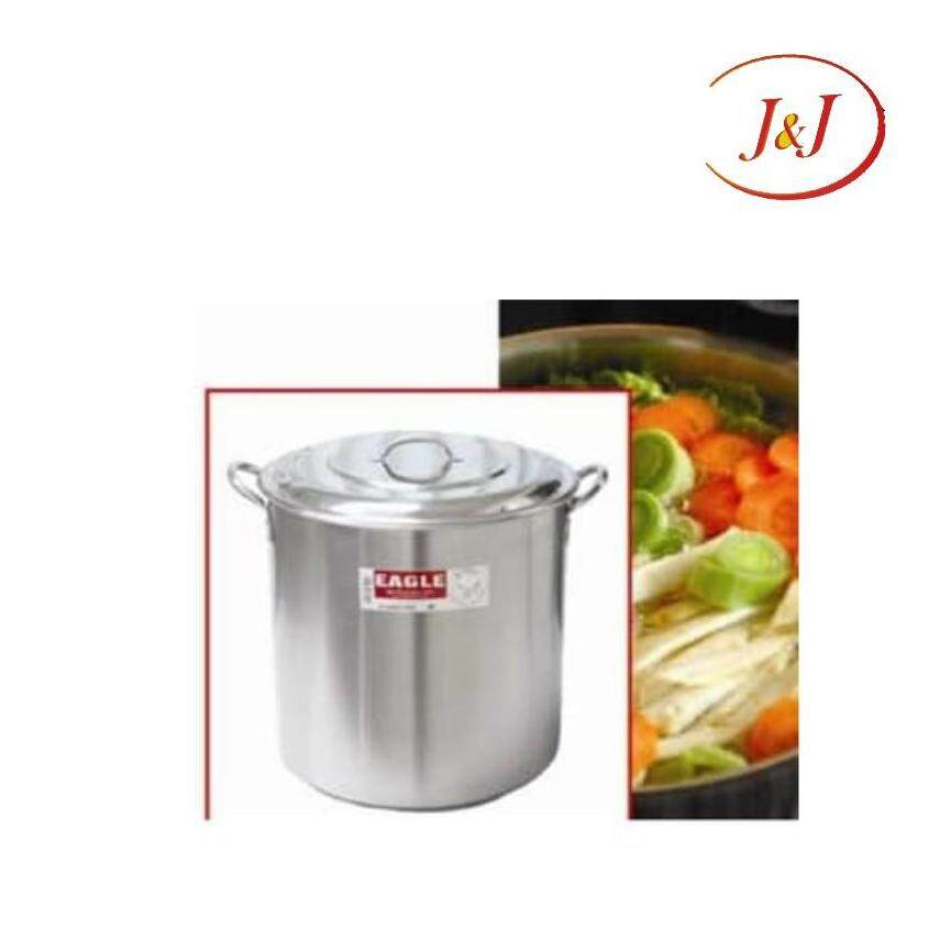 EAGLE Stainless Steel Stock Pot with Capsulated Bottom - Cookware, 30cm