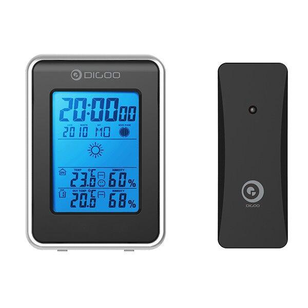 Clocks - Digoo DG-TH1981 Weather Station Thermometer Outdoor Forecast Sensor - Home Decor