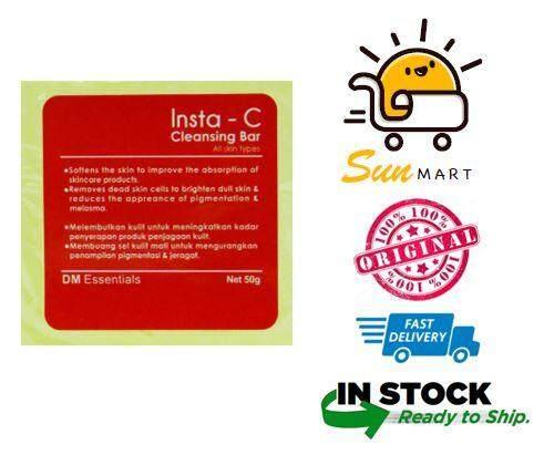 DM Essentials Insta-C / Insta C Cleansing Bar 50g