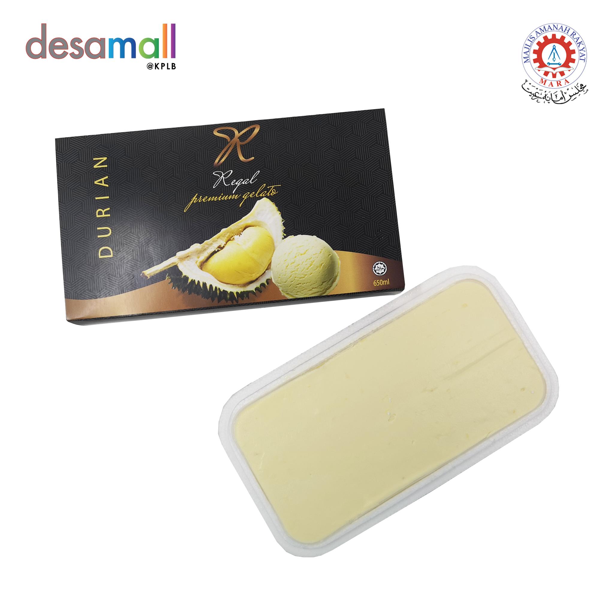 REGAL PREMIUM D24 DURIAN GELATO Foam Pack (650ml)