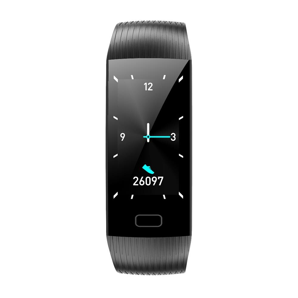 Smart Watch - Goral Z6 1.14\' Big Screen Real-time Detection Social Message Display 15Days Battery Life Smart - BLACK / PURPLE / BLUE