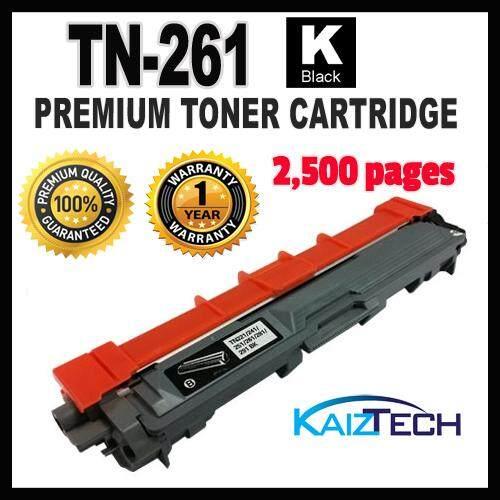 Brother TN-261 Black Premium Toner Cartridge for HL-3150CDN, HL-3170CDW, MFC-9140CDN, MFC-9330CDW Printer