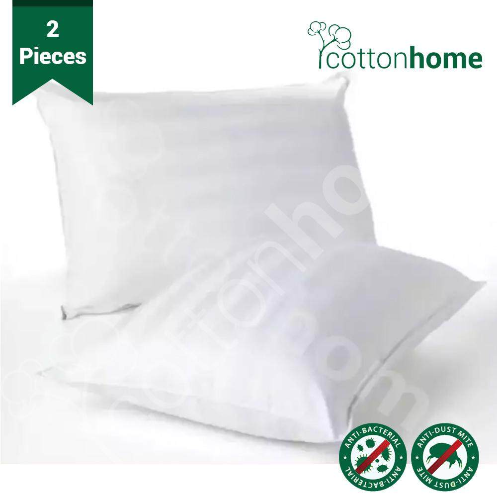 CH: 2 x Bouncy Pillows - 100% Virgin Polyester Filled: 900 grams