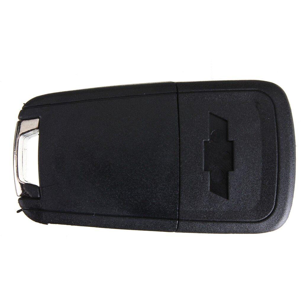 Car Accessories - Car Flip Folding Remote Key Fob 3 Button Case For Chevrolet Cruze - Automotive