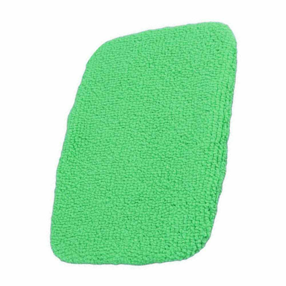 Windshield Clean Microfiber Cloth for Long Handle Car Cleaning Brush (Light Green) (Handle Brush is Not Included) (Light Green)