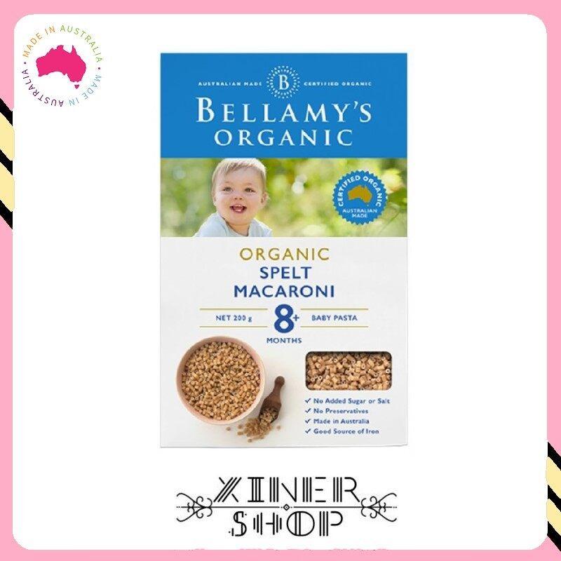 [Import From Australia] Bellamy 's Organic Spelt Macaroni 8+ ( 200g )