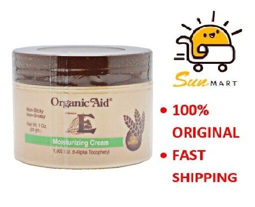 Organic Aid Vitamin E Moisturizing Cream (28G)