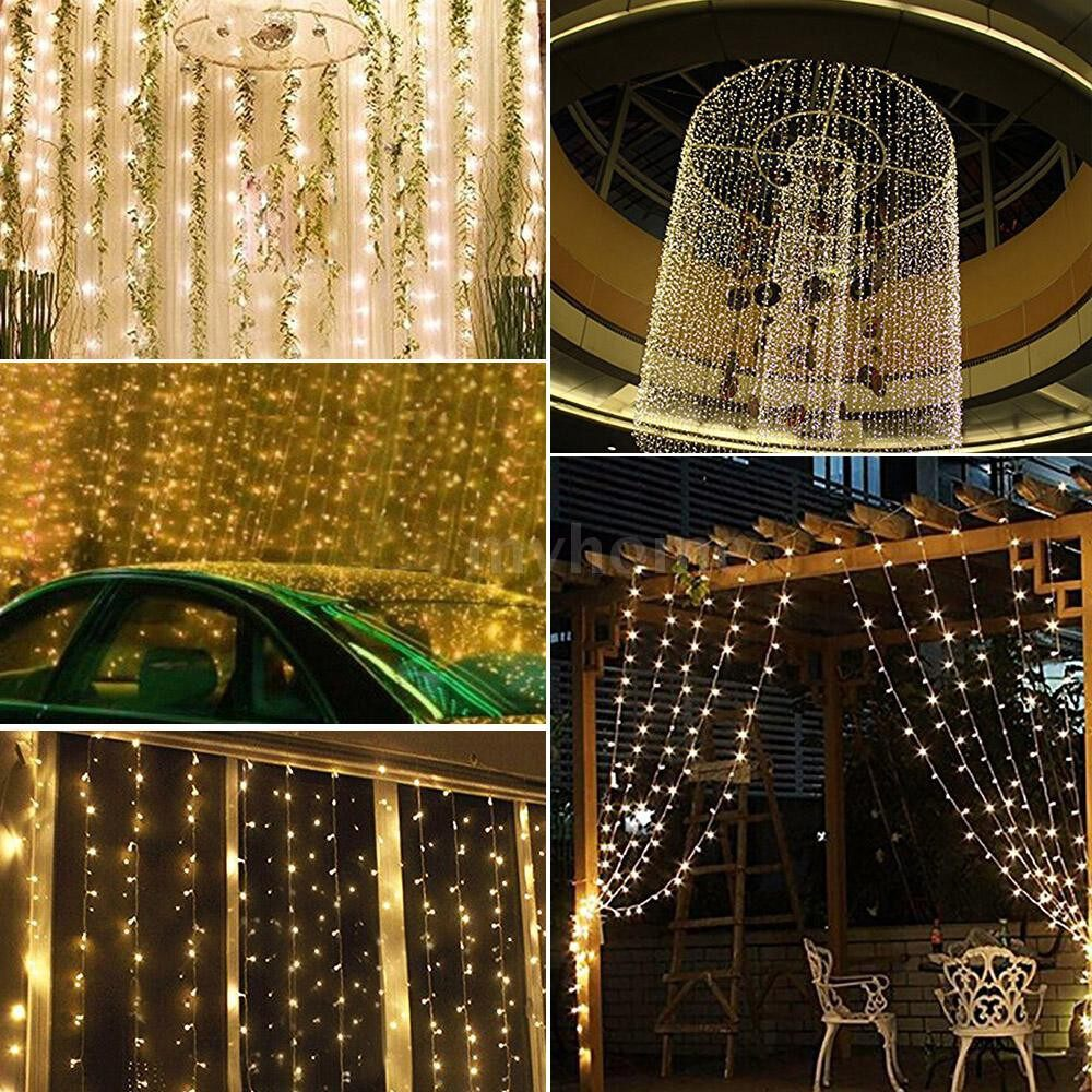 Lighting - 200LEDs String Light 6w 25 meters/82 ft IP44 Water Resistance Eight Lighting Effects for - Home & Living