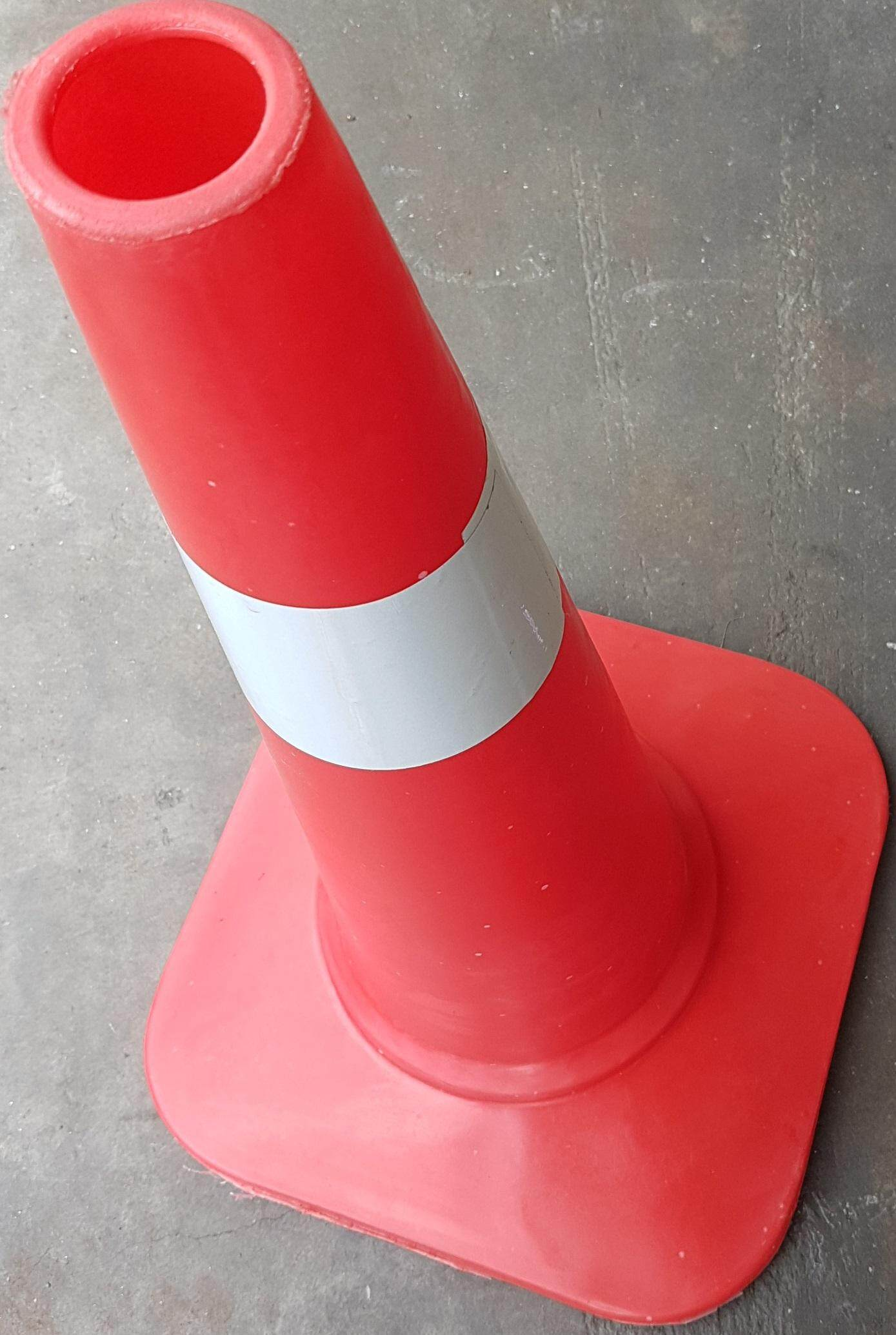 """30"""" inch safety cone stand safe lift jack floor high look hole construction fit center road block repair blocking"""