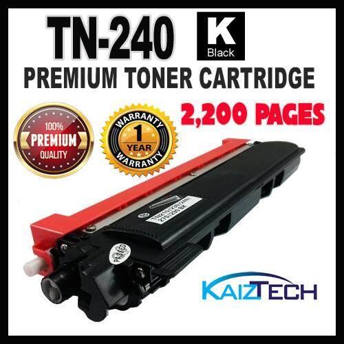 Brother TN-240 / TN240 Black Premium Toner Cartridge TN-240BK - Brother HL-3040CN / HL-3070CW / DCP-9010CN / MFC-9120CN / MFC-9320CW Printer