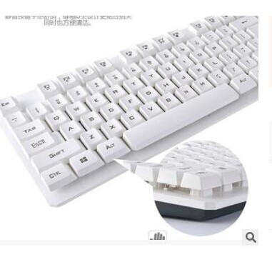Keyboards - ORIGINAL 2.4GHz WIRELESS Keyboard and Mouse Combo SET Kit For PC Laptop Office - WHITE / BLACK