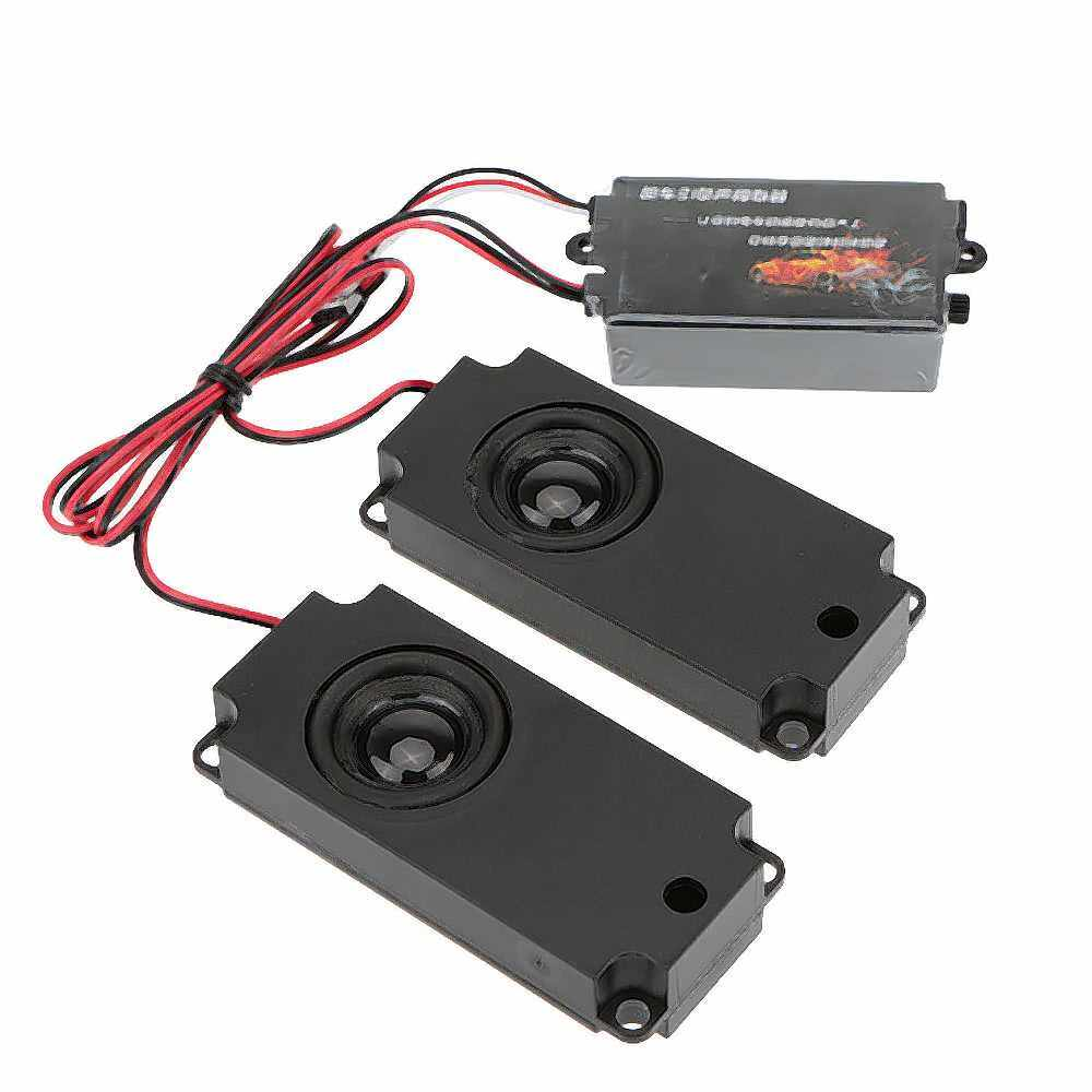 GoolRC Second Generation Cool Throttle Linkage Groups Engine Sound Simulator With 2 Speakers for R/C Sports Car (Standard)