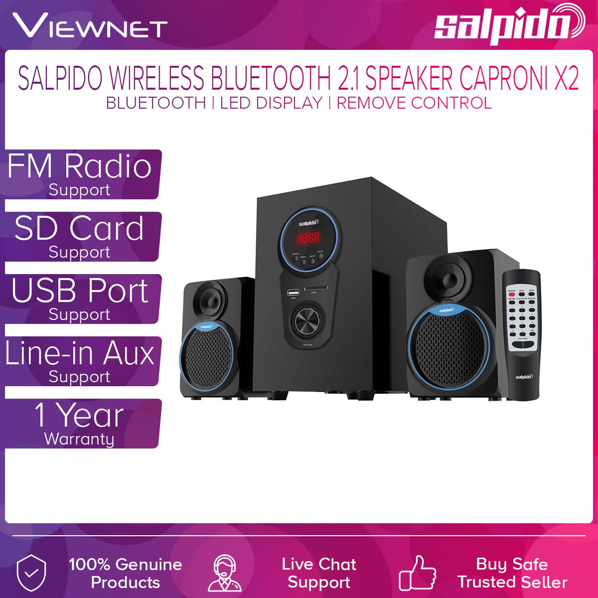 Salpido Caproni 2x BTMI 2.1 Speaker