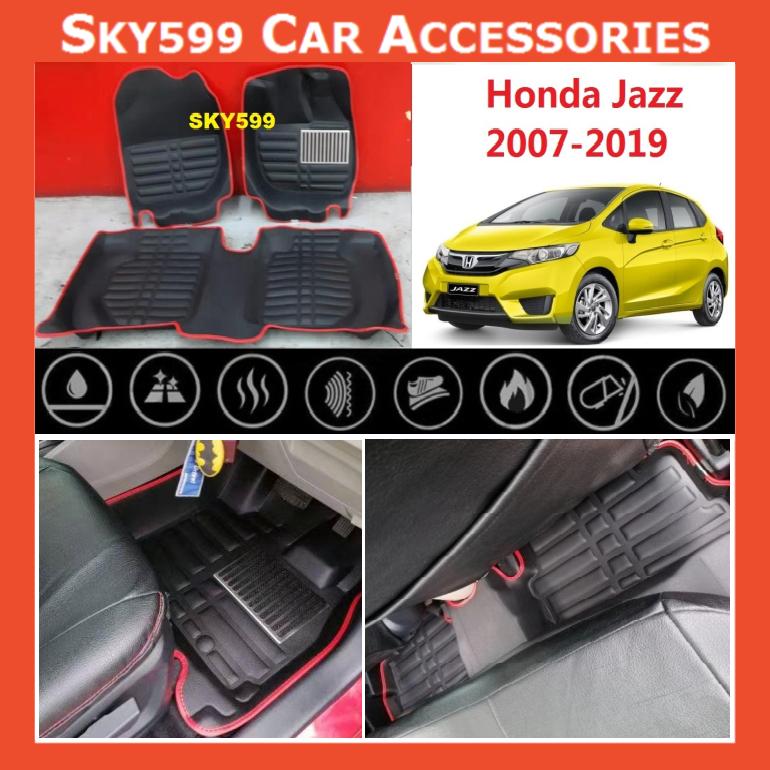 Honda Jazz 2007-2020 5D Car Floor Mat/Carpet