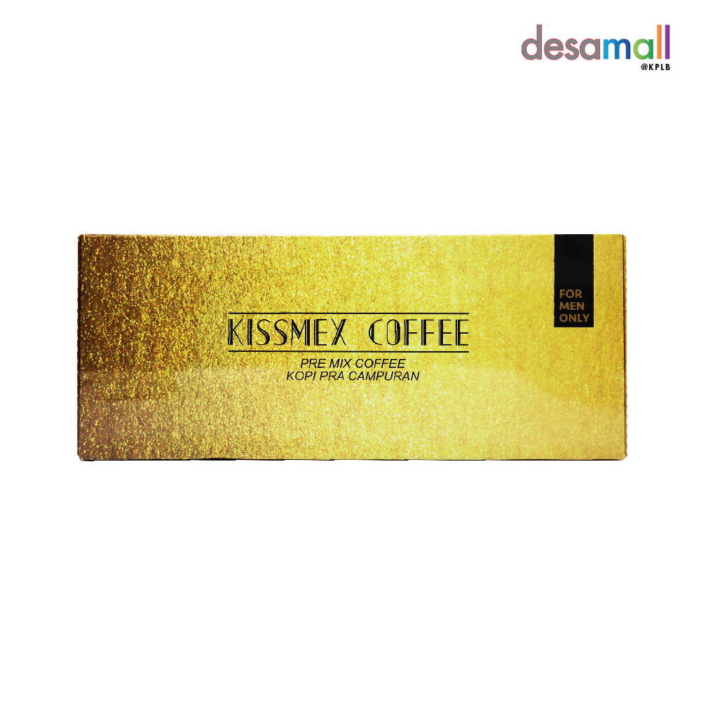 KISSMEX COFFEE Kopi Untuk Jantan (25pcsx6g)