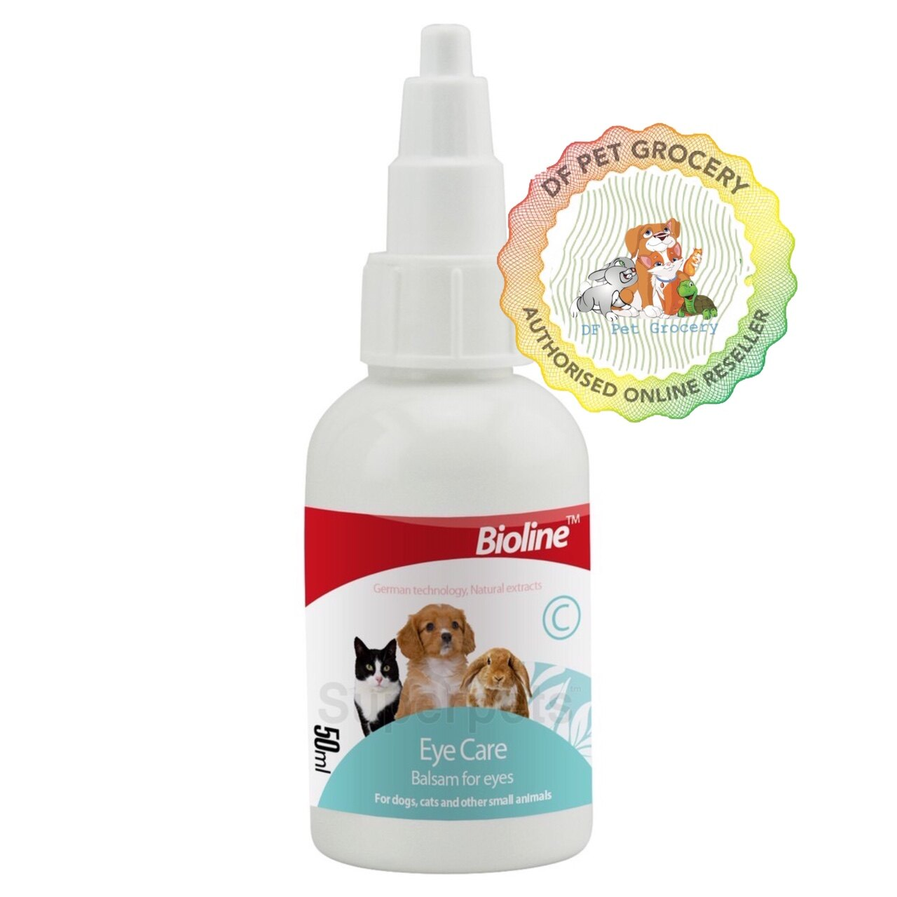 Bioline Eye Care Drop For Dog , Cat , Rabbit & Small Animals 50ml NR.2014 / QB-2014