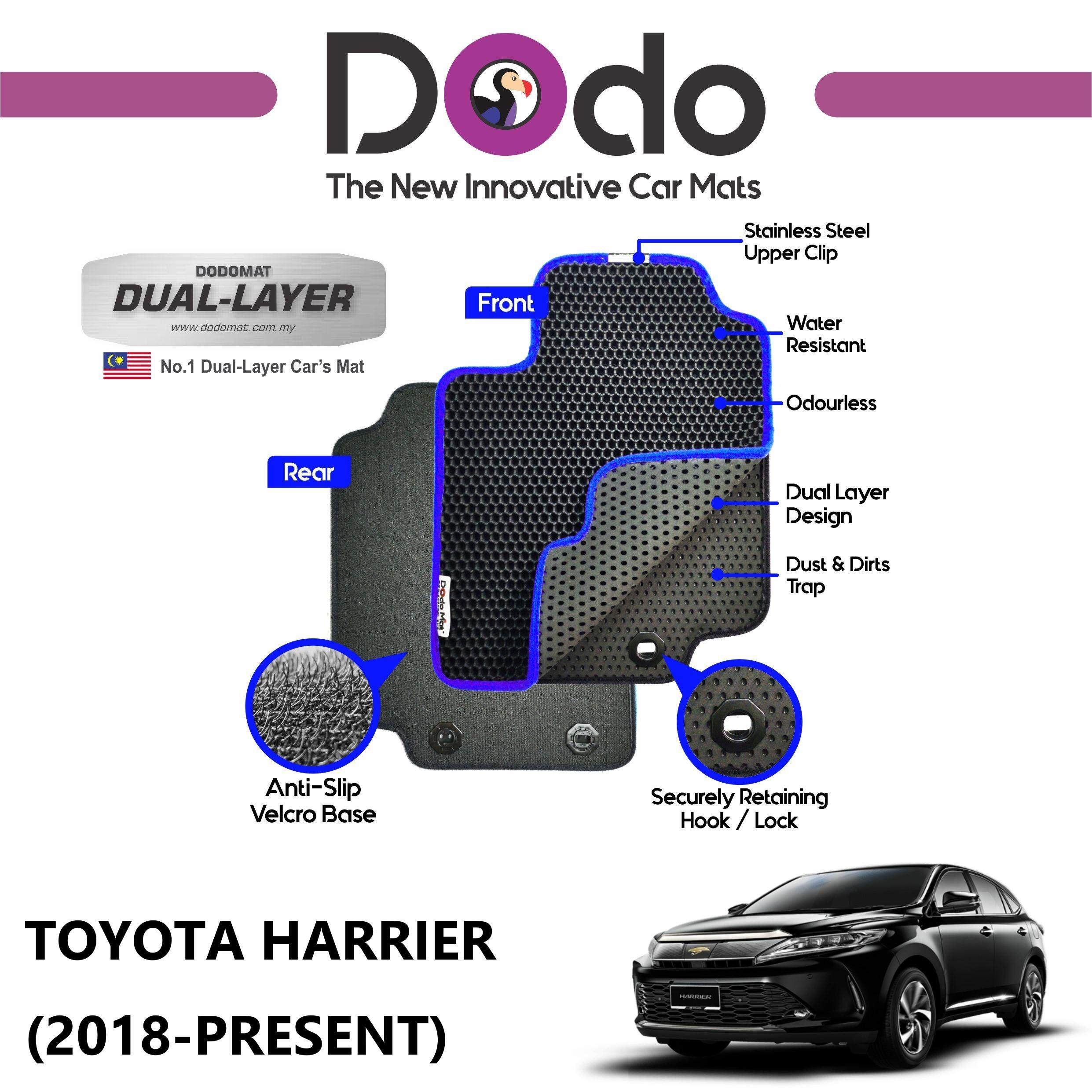DODOMAT Car Mat TOYOTA HARRIER MY (2018-PRESENT) BASIC
