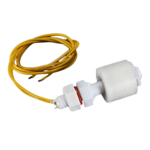 CCTV Security Cameras - PP Liquid Water Level Sensor Horizontal Float Switch Down White - Systems