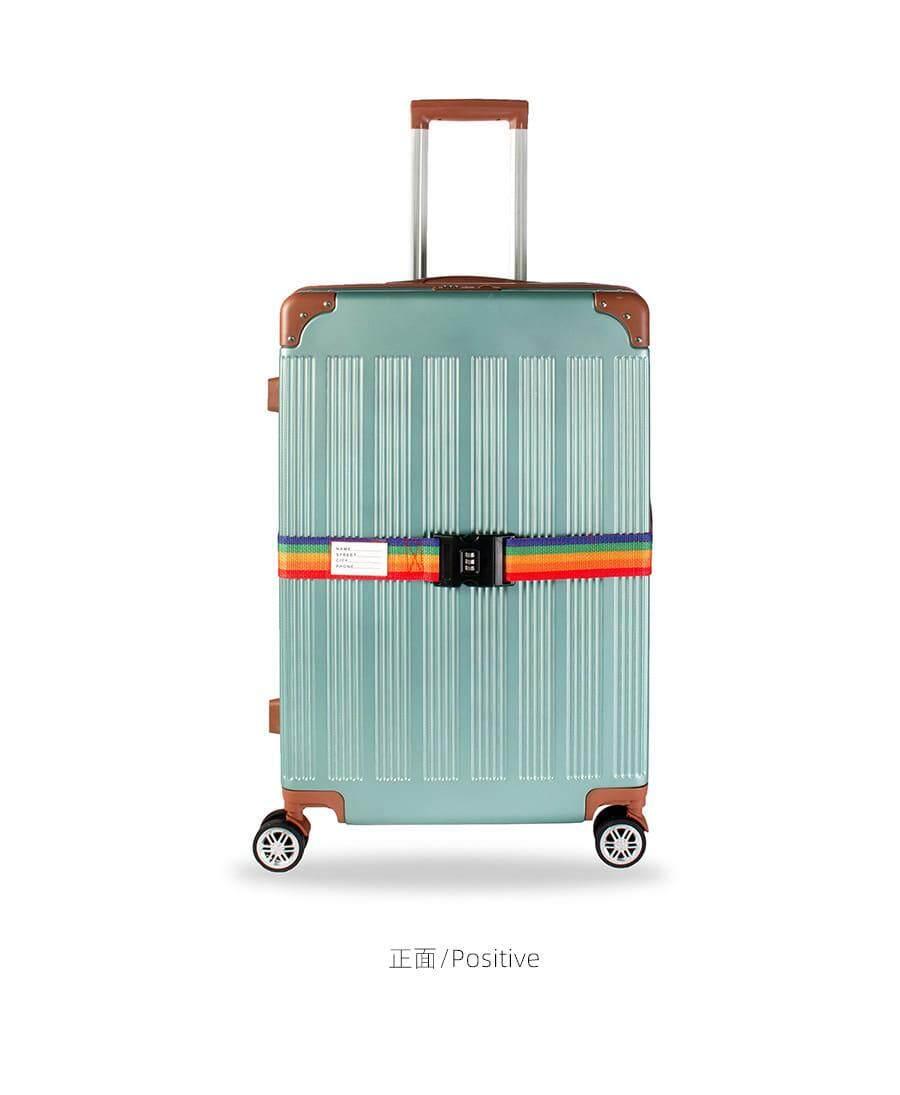 [M'sia Warehouse Direct] Premium High Quality Adjustable Personalise Travel Luggage Suitcase Lock Safe Belt Strap Baggage Tie Multifunctional