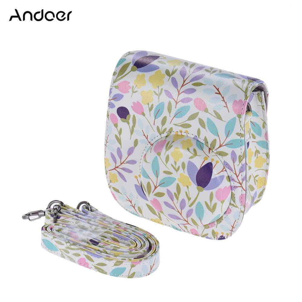 Andoer PU Protective Camera Case Bag Pouch Protector for Fujifilm Instax Mini 8+/8s/8 (1)