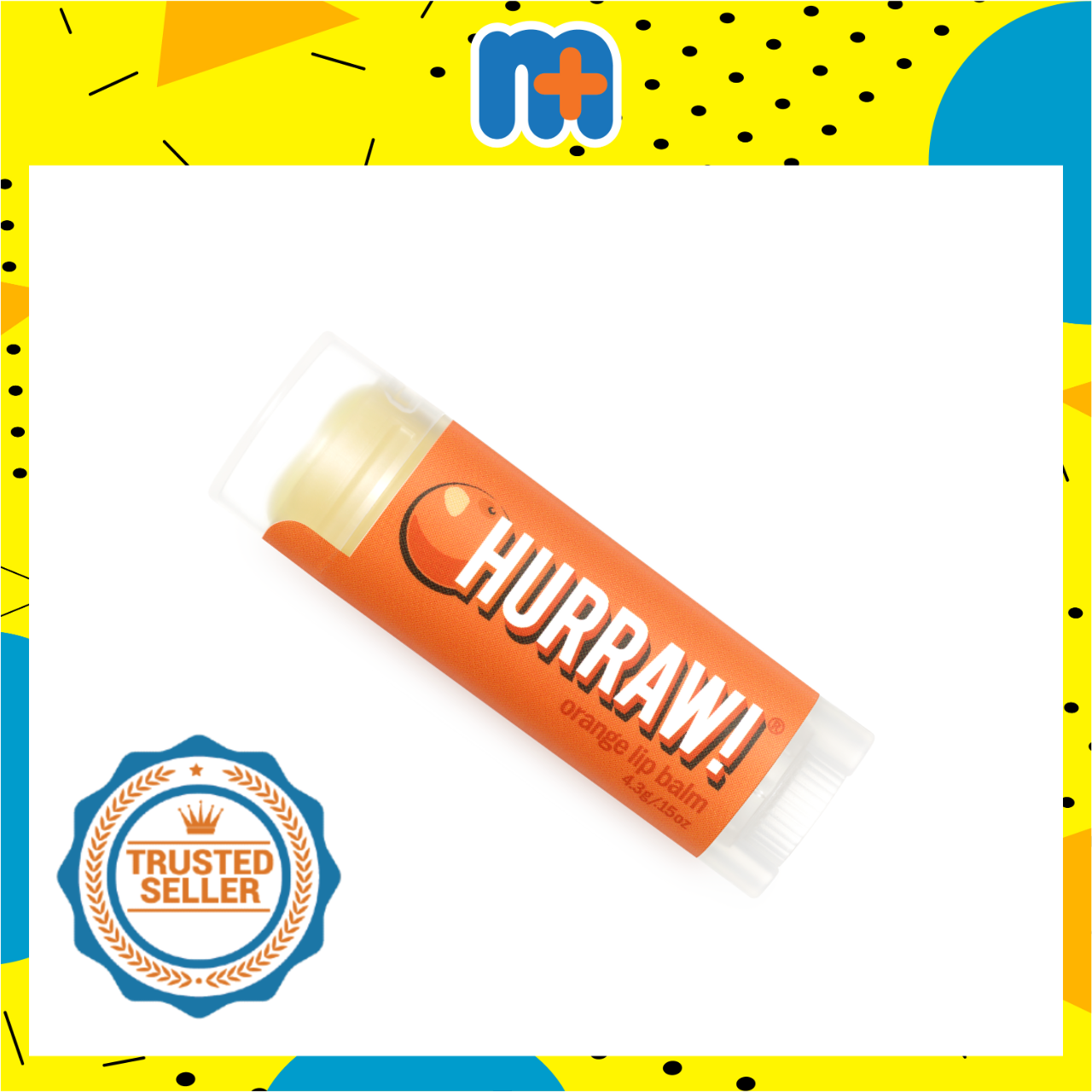 [MPLUS] HURRAW ORANGE LIP BALM 4.8G