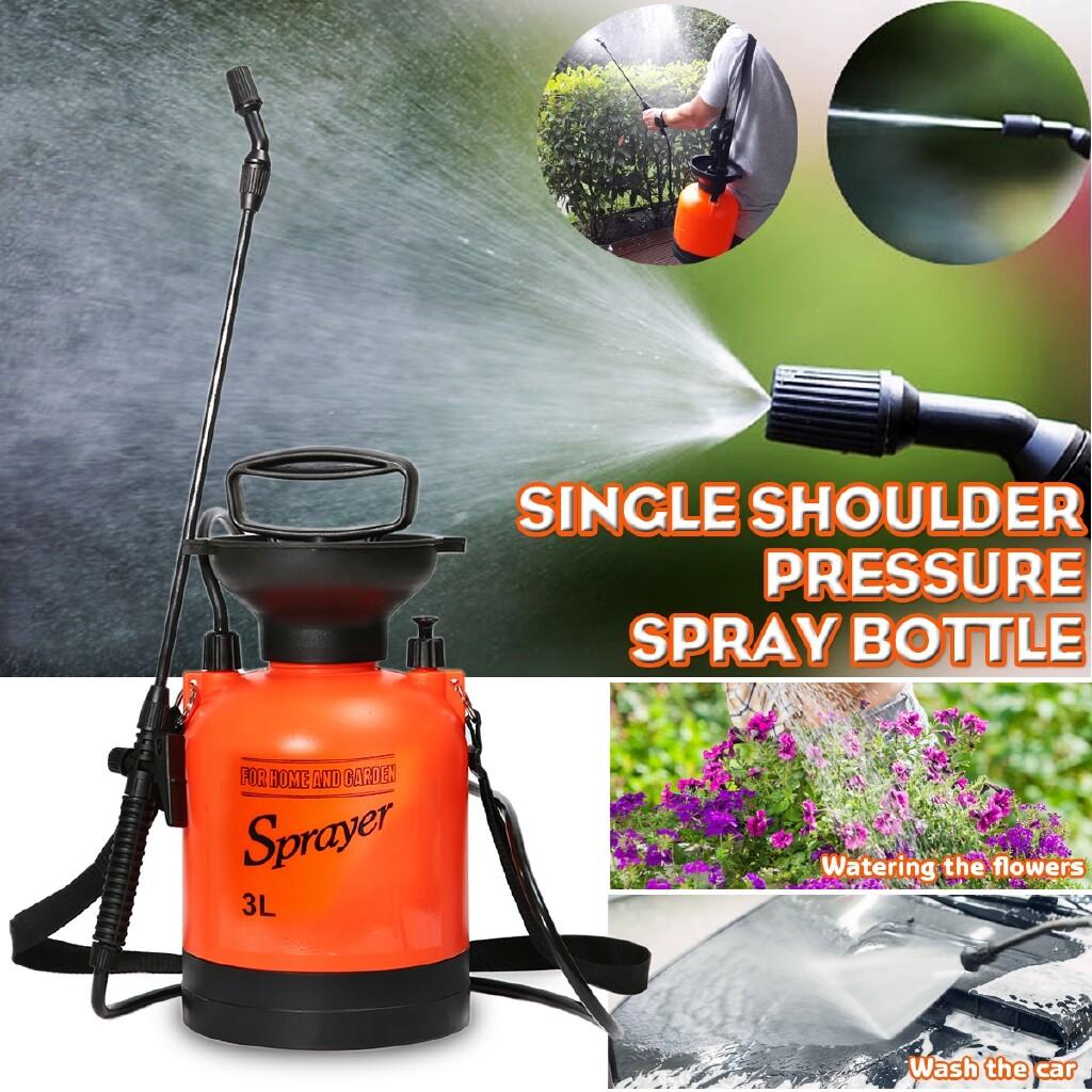 Outdoor & Garden - 3L Garden Spray Bottle Handheld Pressure Sprayer Home Water Pump Sprayer - Home Improvement