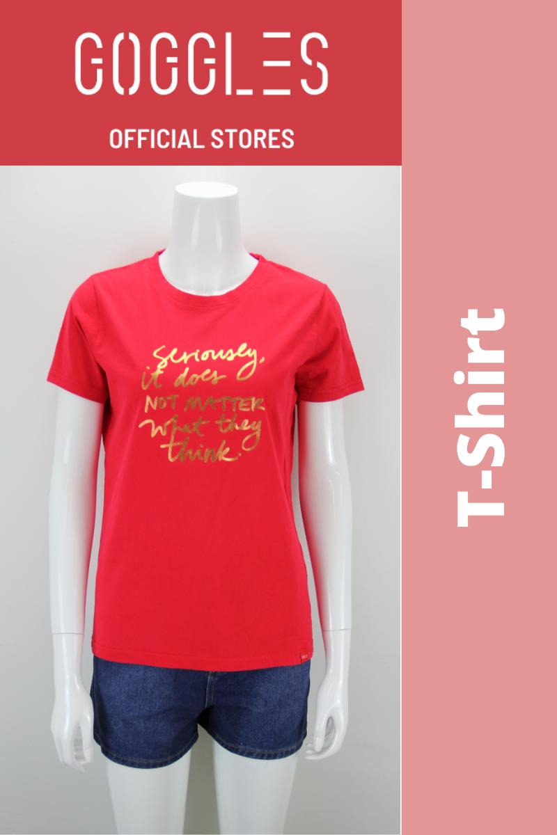 GOGGLES Ladies Short Sleeve T-Shirts 022974