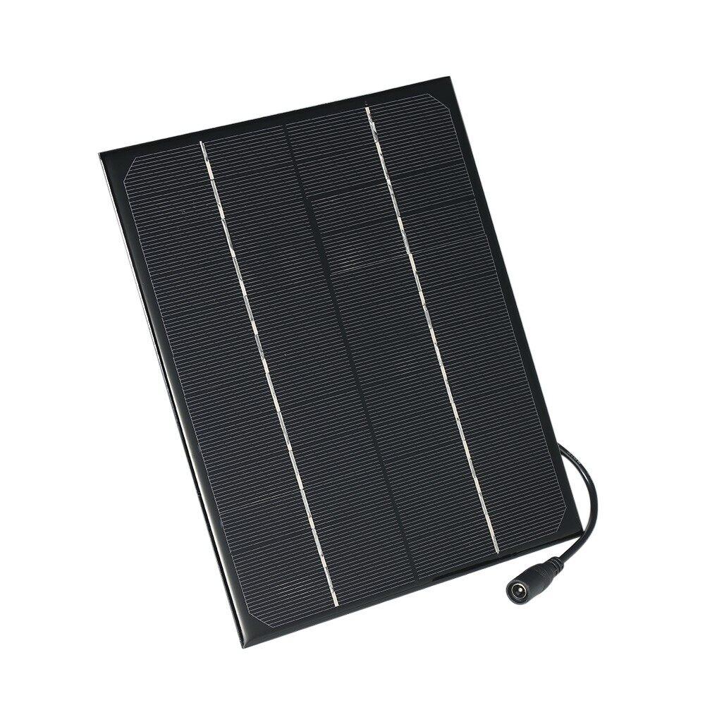 Outdoor & Garden - 6W 18V Monocrystalline Silicon Solar Panel PORTABLE Power Bank Charger Solar Cel - #2 6W 18V / #1