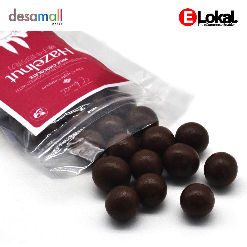 C'APPLE Milk Chocolate - Hazelnut (250g)
