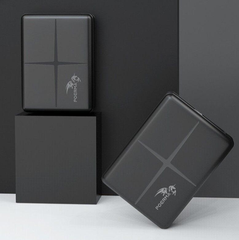 [LazChoice](LazChoice) Poerma 5000mAh Lightweight Palm Size Powerbank For Huawei Samsung iPhones Oppo Xiaomi