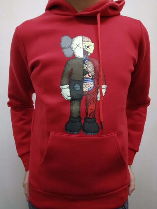 [Ready Stock] kaws uniqlo Hoodies sesame street graphic winter couple korean fashion sweater toys