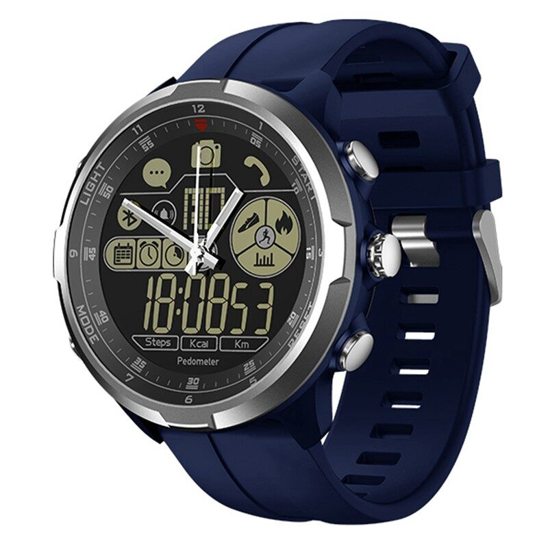 Smart Watch - Sport Activity Smart Watch Call Social Message Reminder 24-month Standby Smart Watch - SILVER / BLUE / BLACK / GREY
