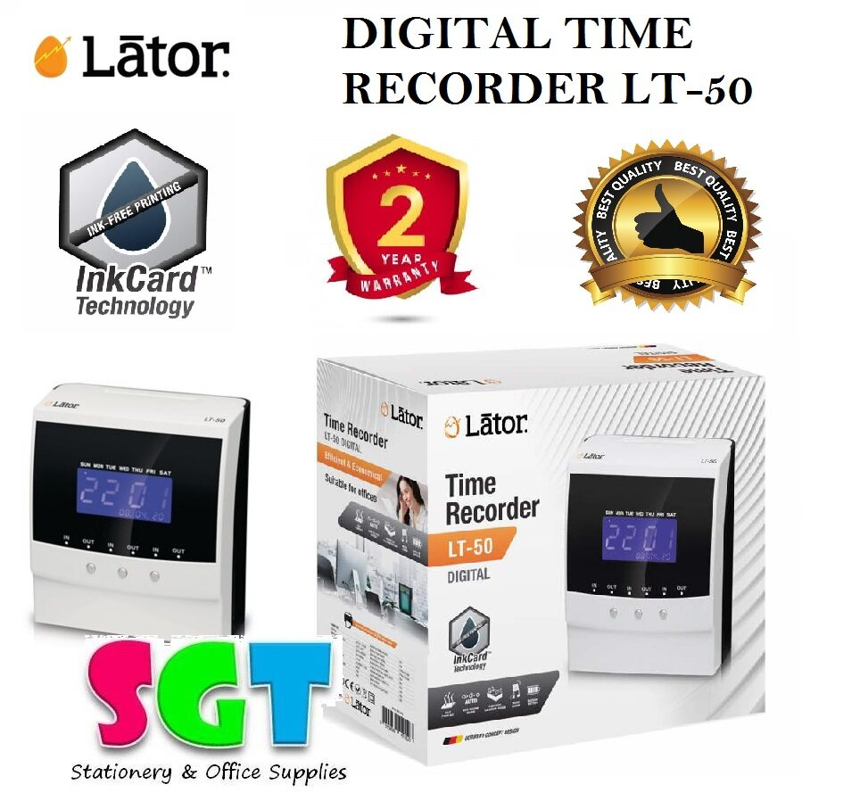 Lator LT-50 Digital Time Recorder