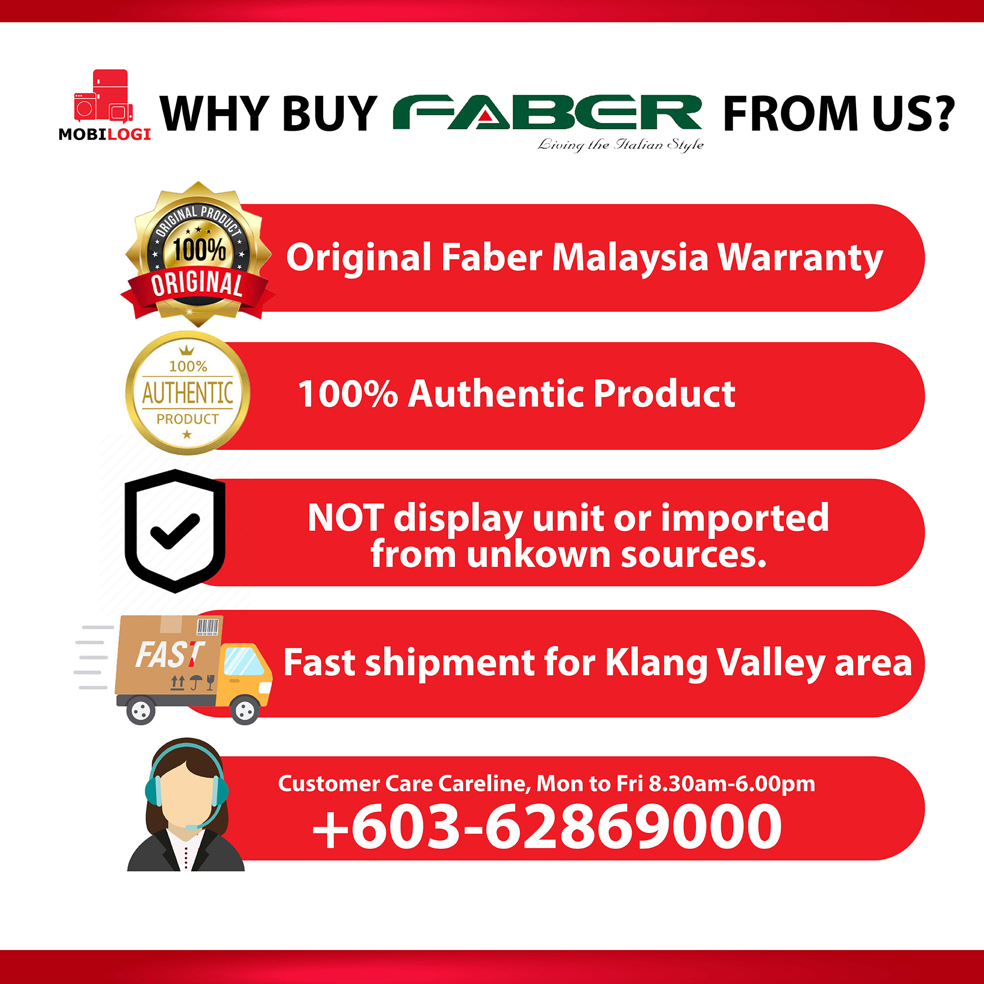 Faber 5L High grade Auto Electric Kettle FK 5005