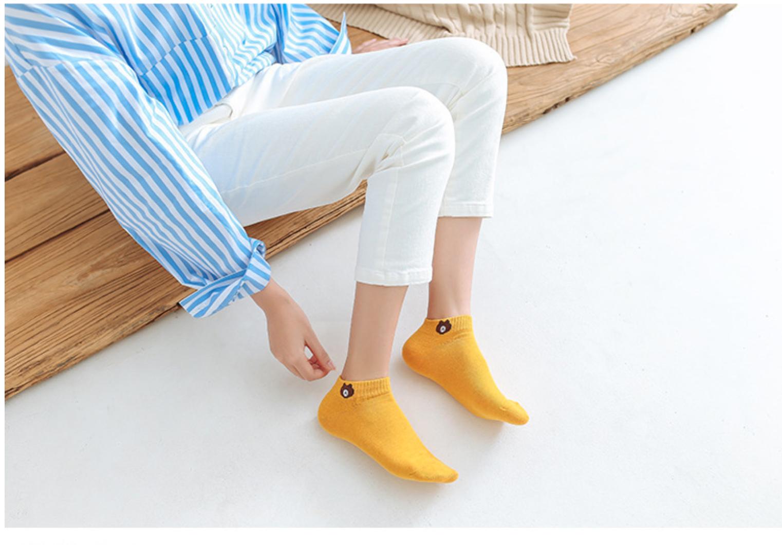 College style cute female socks (10 x 1PAIR)