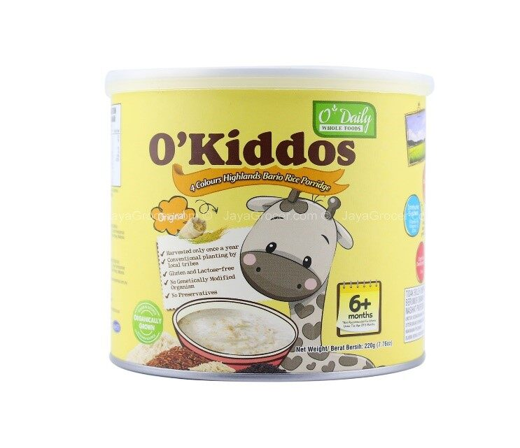 O\'KIDDOS ORGANIC BARIO RICE PORRIDGE - ORIGINAL